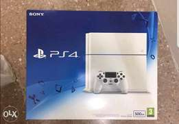 White new ps4 500gb limited edition.
