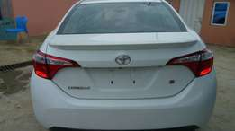 2015 tokunbo Toyota corolla with accident free nd duty paid