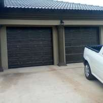 Alu-zinc Garage Doors & Automations