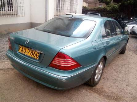 Mercedes Benz S500, For Quick Sale Asking Price 1,400,000/= Highridge - image 5