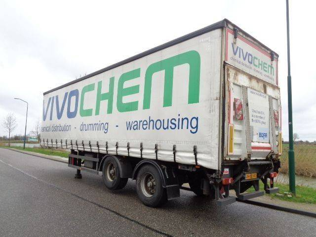 Frühauf 2-axle Steering-Lift axle / Loading lift / NL Trailer / BPW - 2002