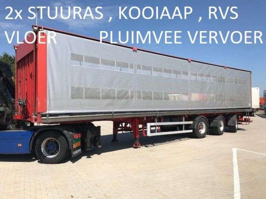 LAG Kooiaap ,pluimvee , Chicken , Animal Trailer , Poultry Tridec 2x Steering - 2011