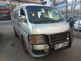 Nissan Cravan 2007 model 2WD diesel manual