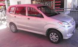 Toyota avanza 7 seater very clean 2010 model