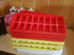 Ice trays x 24