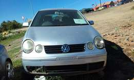 vw polo breaking for spares