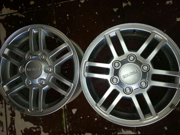 "16""inch magrims for lsuzu bakkies on sale in very good condition. Pretoria West - image 5"