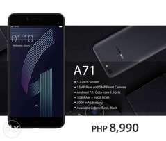 Oppo A71 new sealed.
