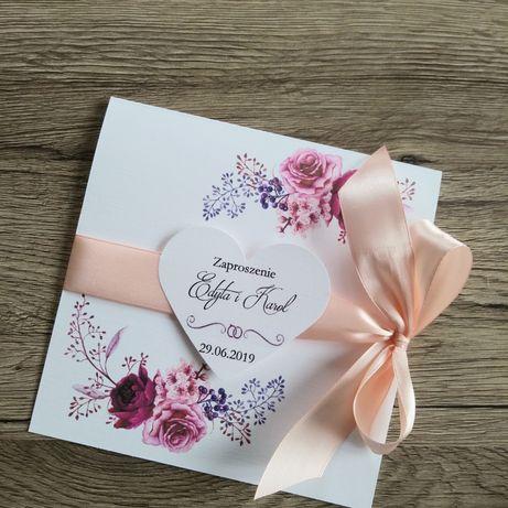 Kwiatowe Zaproszenia ślubne Koperta Gratis Rzeszów Olxpl