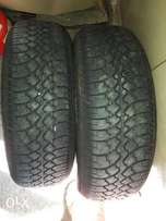 Tyres x 2 For Sale