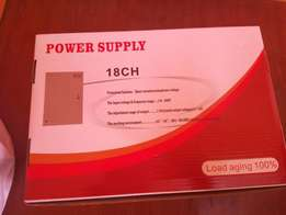 18 channels Power Supply for CCTV Cameras