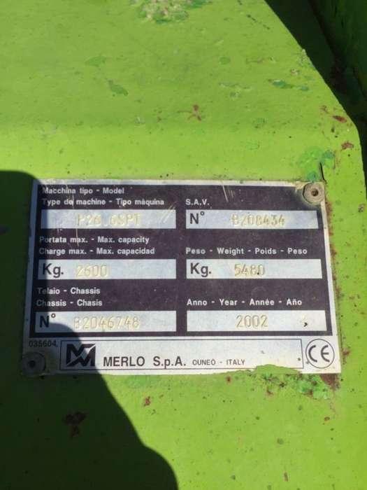 Merlo p26.6 spt - 2002 - image 5