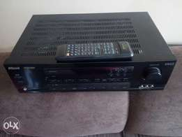Ex UK amplifier with radio (AVR) with remote. Perfect condition.