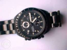 Decker Chronograph Black Stainless Steel fossil Watch