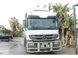 MERCEDES-BENZ ACTROS 2654LS/33 V8 6X4 TRUCK tractor for sale