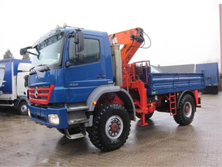 Mercedes-Benz Axor 1829 A 4X4 Atlas 4006B Manual Euro 5 - 2010 - image 4