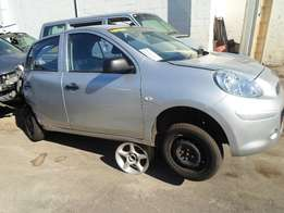 2013 NISSAN MICRA 1.6 Breaking for Spares.