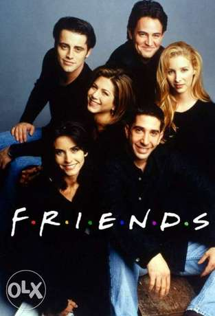 FRIENDS TV- series all 10 Seasons Complete HD quality