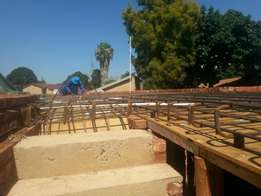 First floor slab and staircase masters