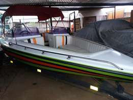 johnson 225 pleasure boat for sale for R55000.00