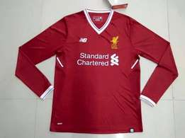 LFC MENS ELITE HOME SHIRT 17/18 - long sleeve