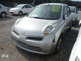 Nissan March Year 2010 Model Automatic Petrol Silver Color KCN