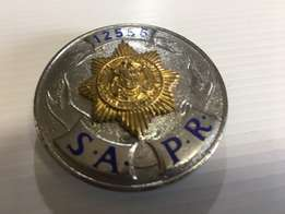 South African Police Reservist Badge