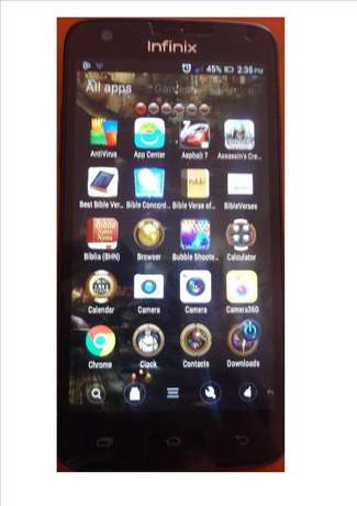 Infinix 505 Clean and smart phone original single sim. 5.0 Screen Kahawa West/Njua - image 2
