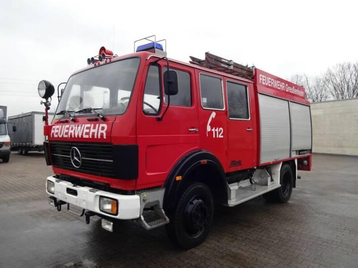 Mercedes-Benz 1222 LF 16 Feuerwehr Lkw - 1986