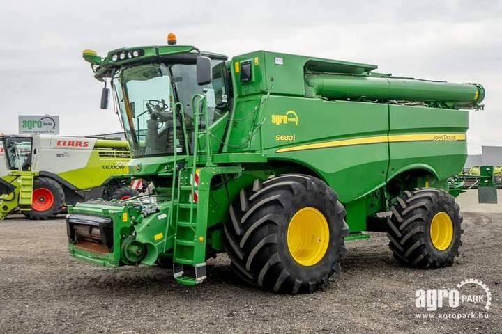 John Deere S680i (863/1135 Hours) 9,1 M 630r Header - 2012