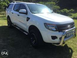 Ford Ranger 2.2D Dcab with canopy