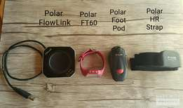 Polar FT60 Heart Rate Monitor with Accessories. Scratch free