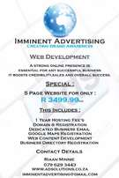 5 Page Website Special
