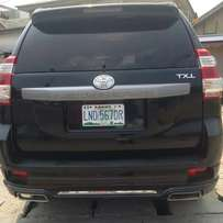 Perfectly used toyota prado 2010 tincan cleared