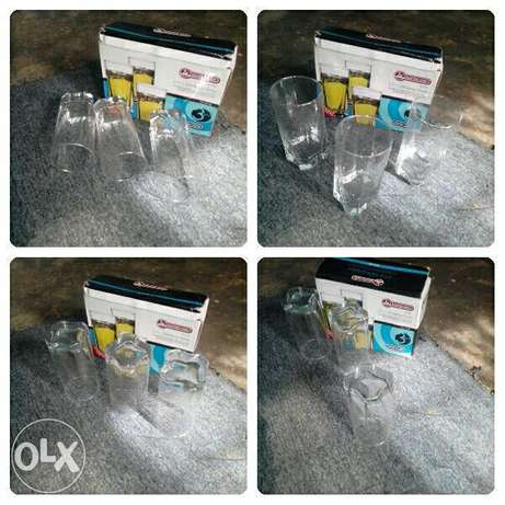 Brand New Home/Office use Master chef 3pieces Glass Cups 4 sell/swap Osogbo - image 1