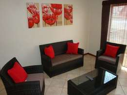 Furnished 2 Bedroom Flat To Let in Secure Complex Situated In Newcastl