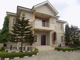 A Furnished Luxury & Spaciously Built 5 Bedroom Duplex + Bq in Ajah