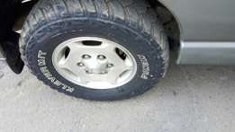 I am Looking for used KENDA Klever tyres