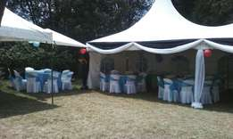 For clean tents and chairs call us