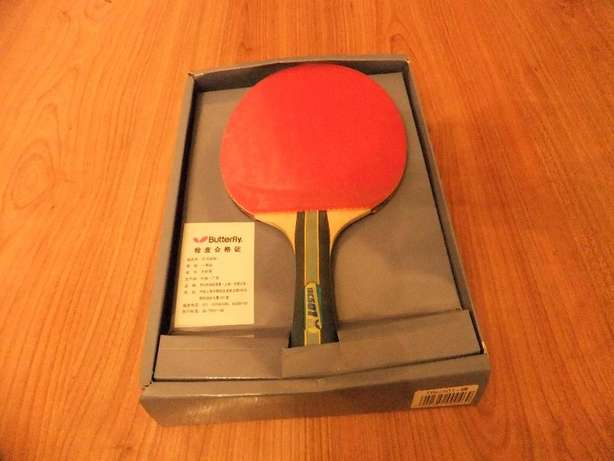 New Imported Butterfly 5-Star Table Tennis Racket for Sale Fourway Gardens - image 2