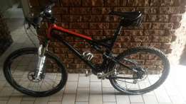 2014 silverback dual supension 26 inch with loads of extras