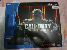 Brand new game ps4 jet black with all accessories for sell