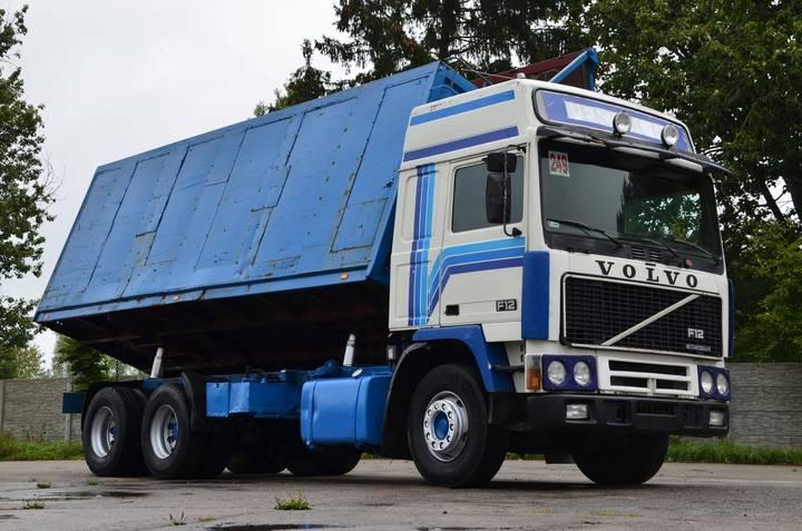 Volvo F12 380 6x4 1985 - TIPPER