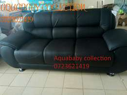 Black five sweater ready made leather seats