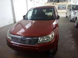 Subaru forester red wine
