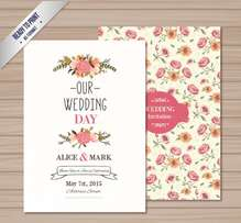 Professional Wedding Card Designs from Ksh 1000