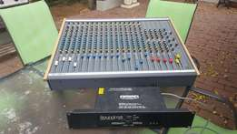Soundcraft Mixer with CPS