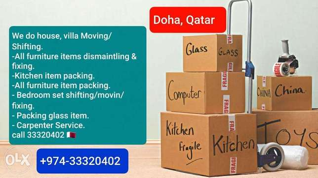 Doha Moving shifting Home Qatar