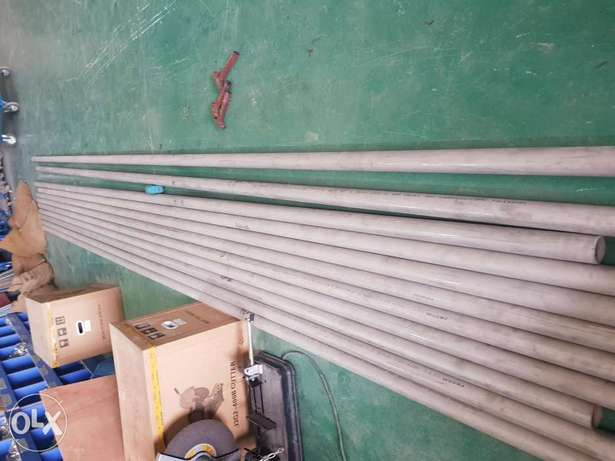 """SS Shedual-40 pipe 21/2"""" GR316"""