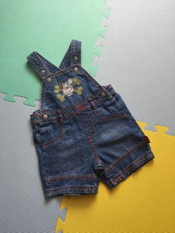146f2ac8 Krótkie spodenki jeansowe ogrodniczki Debenhams rozm. 62 na lato ...